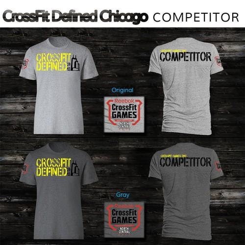 CrossFit Defined - needs regional CrossFit Games 2012 design by Saturday.