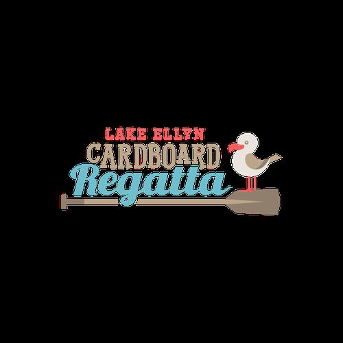 "1-to-1 Project- ""Lake Ellyn Cardboard Regatta"" Logo"