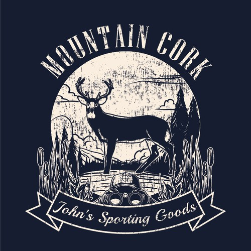 Outdoor themed t-shirt designs for Sporting Goods Stores