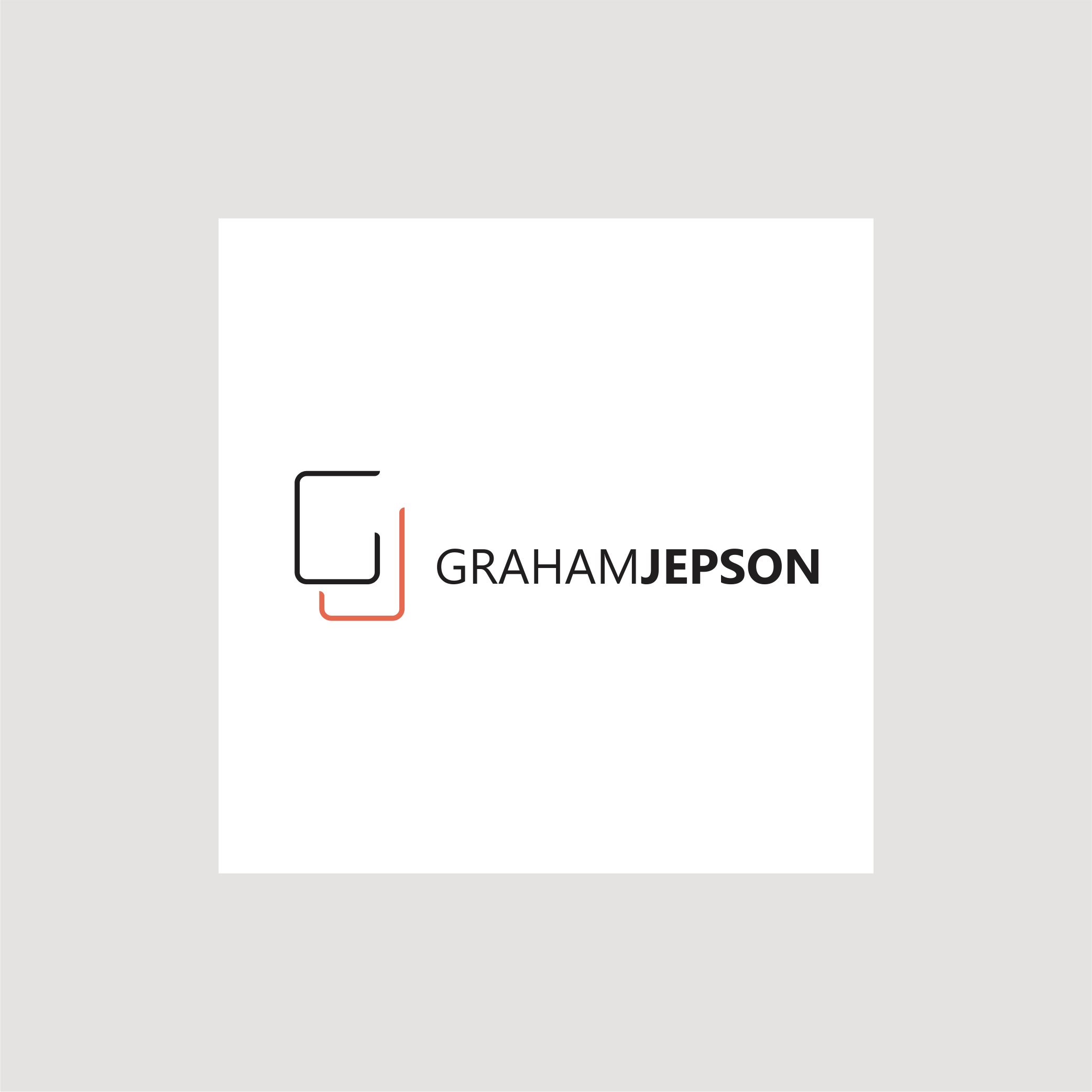 Contemporary, simple elegant logo for commercial photographer