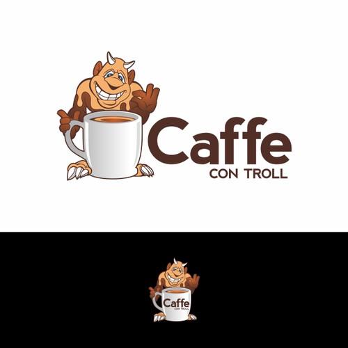 a trolling academic logo.