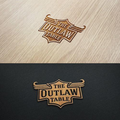 vintage logo design - home decor table trays