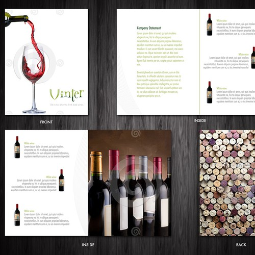 New brochure design wanted for Vintage Terroir