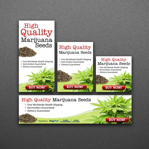 Banner Ads for a Seeds Supplier