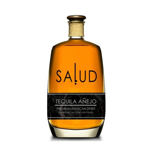Prestige Tequila label