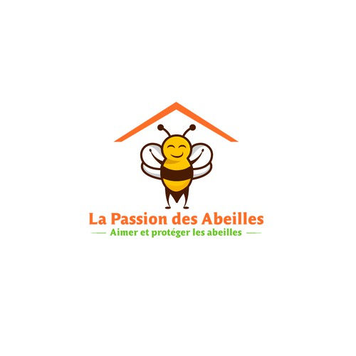 logo for bees  protection