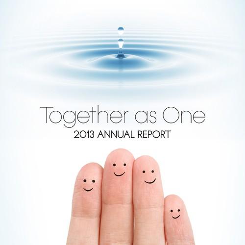 Cover Design for Nonprofit Annual Report