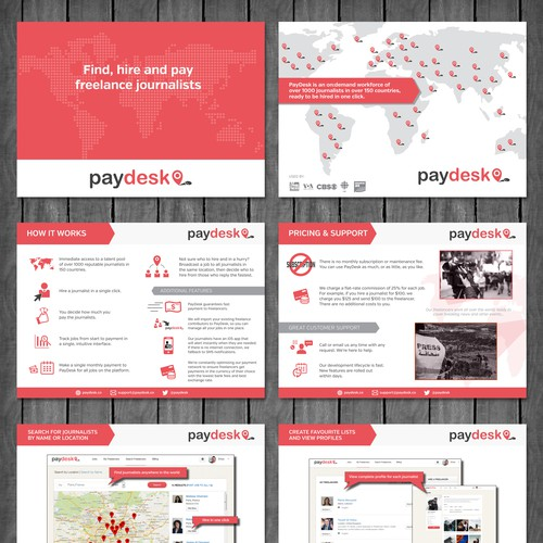 Sales document for Paydesk