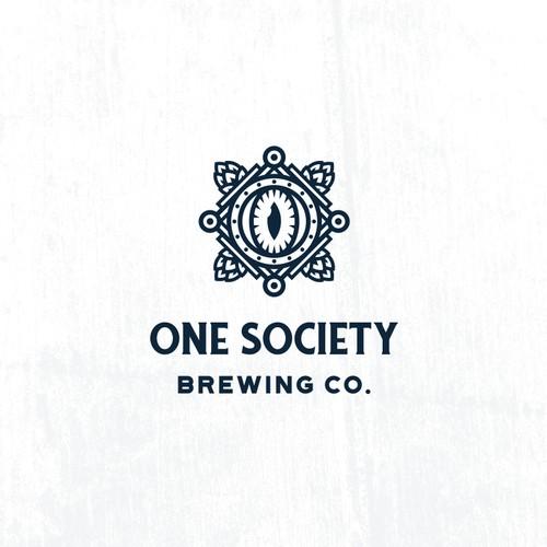 One Society Brewing Logo
