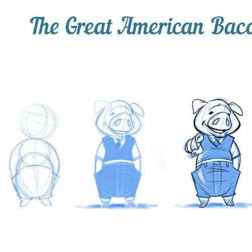New bacon race brand needs a cool pig for a mascot