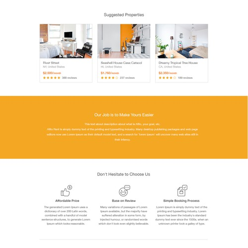 Web redesign for Afito