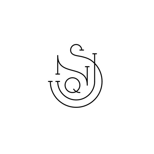 Monogram for a luxury fashion brand