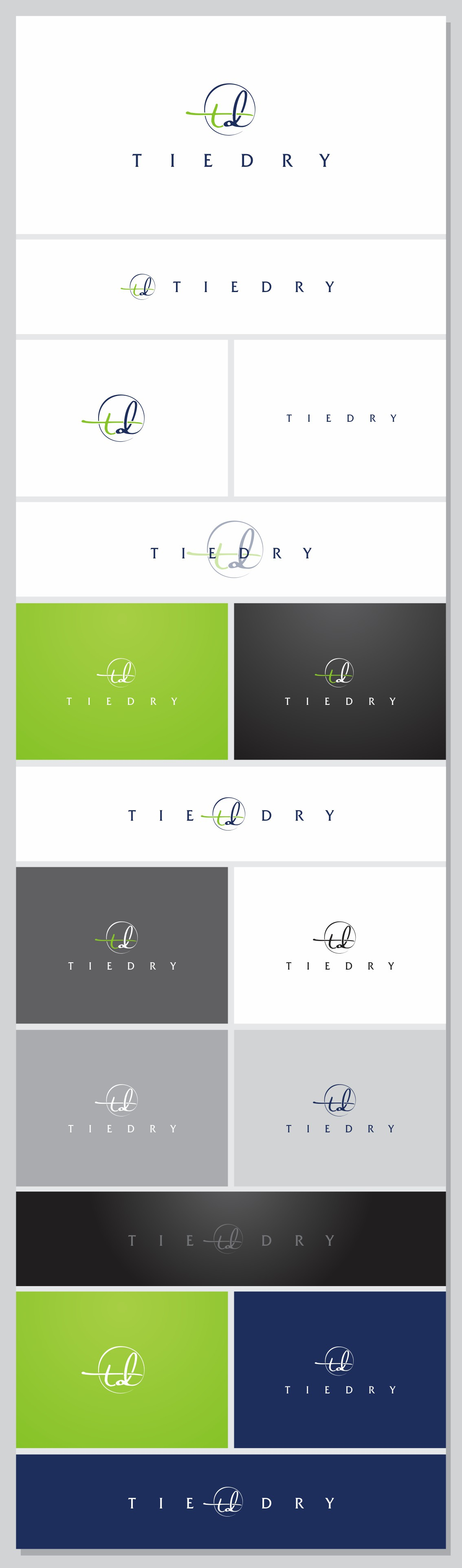 Help startup company TieDry with a new corporate logo
