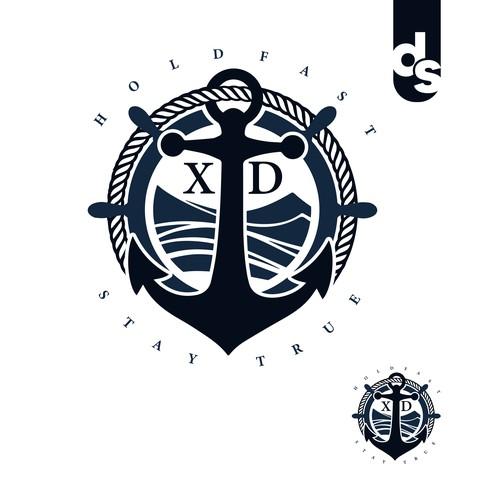 Holistic spiritual healer logo design
