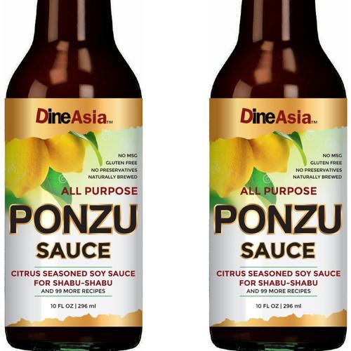 PONZU sauce