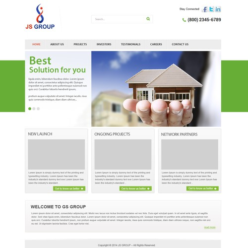 Corporate Website(Group of Companies)