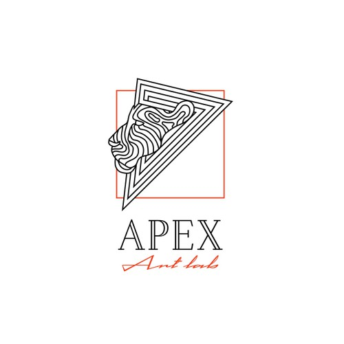 Creative logo concept for Art Studio