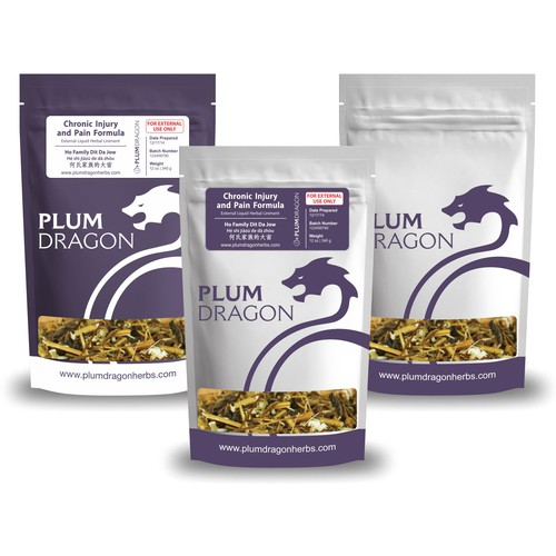 PlumDragonHerbs needs a package design as unique as they are