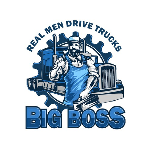 The real men trucker