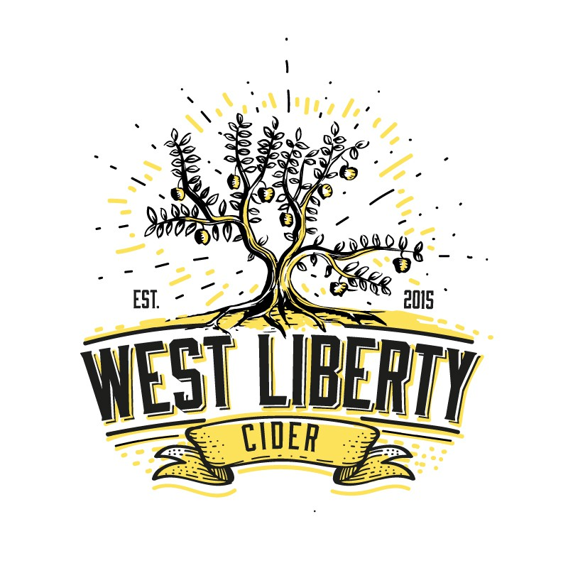 Create a classic pro-prohibition  (late 1800's / early 1900's) logo for a up and coming midwest hard cider company.