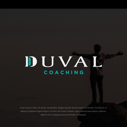 Logo Mark for Duval Coaching.