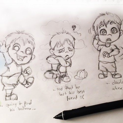 sketches for kids book