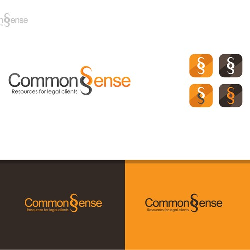 CommonsSense seeks elegance. The medium - our logo.