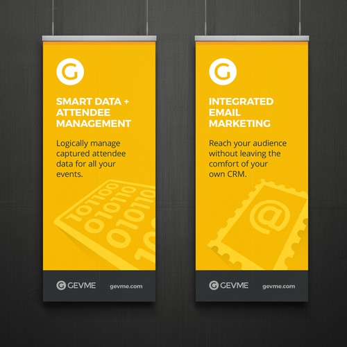GEVME Event Banners