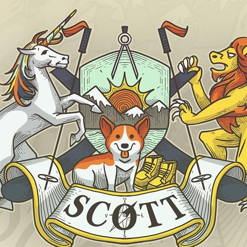 Scott Crest Design