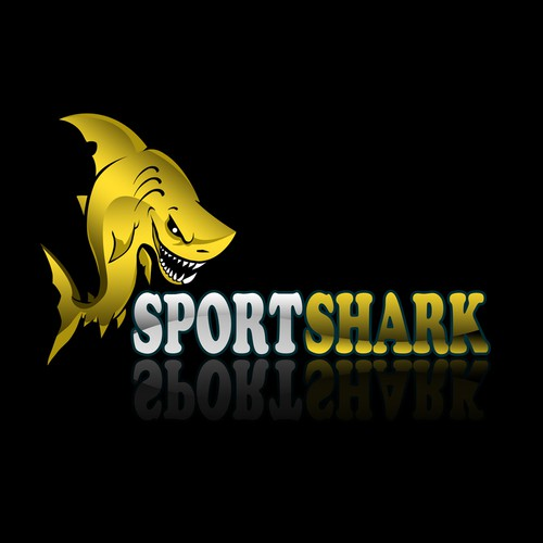 Design me a Shark that likes Sports!