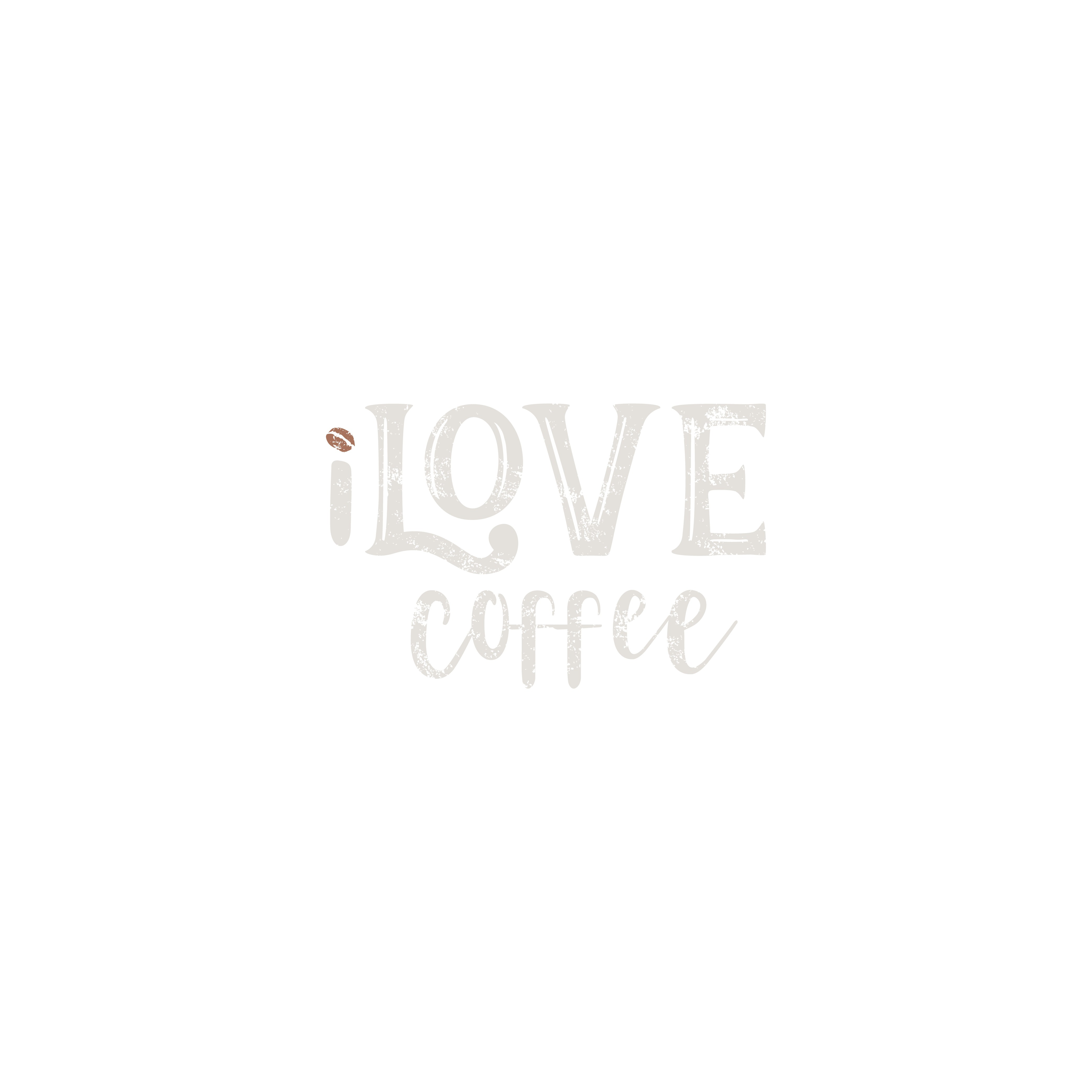 Create a logo for a new specialty coffee business that brands our fun, positive energy!  iLove Coffee is the spelling.