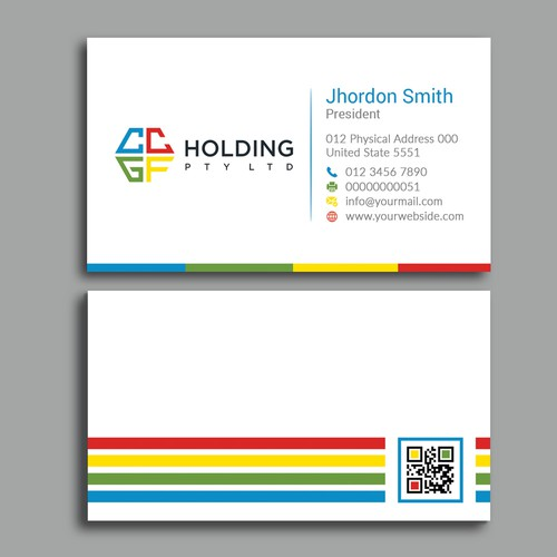 Business Cards for CCGF Holding