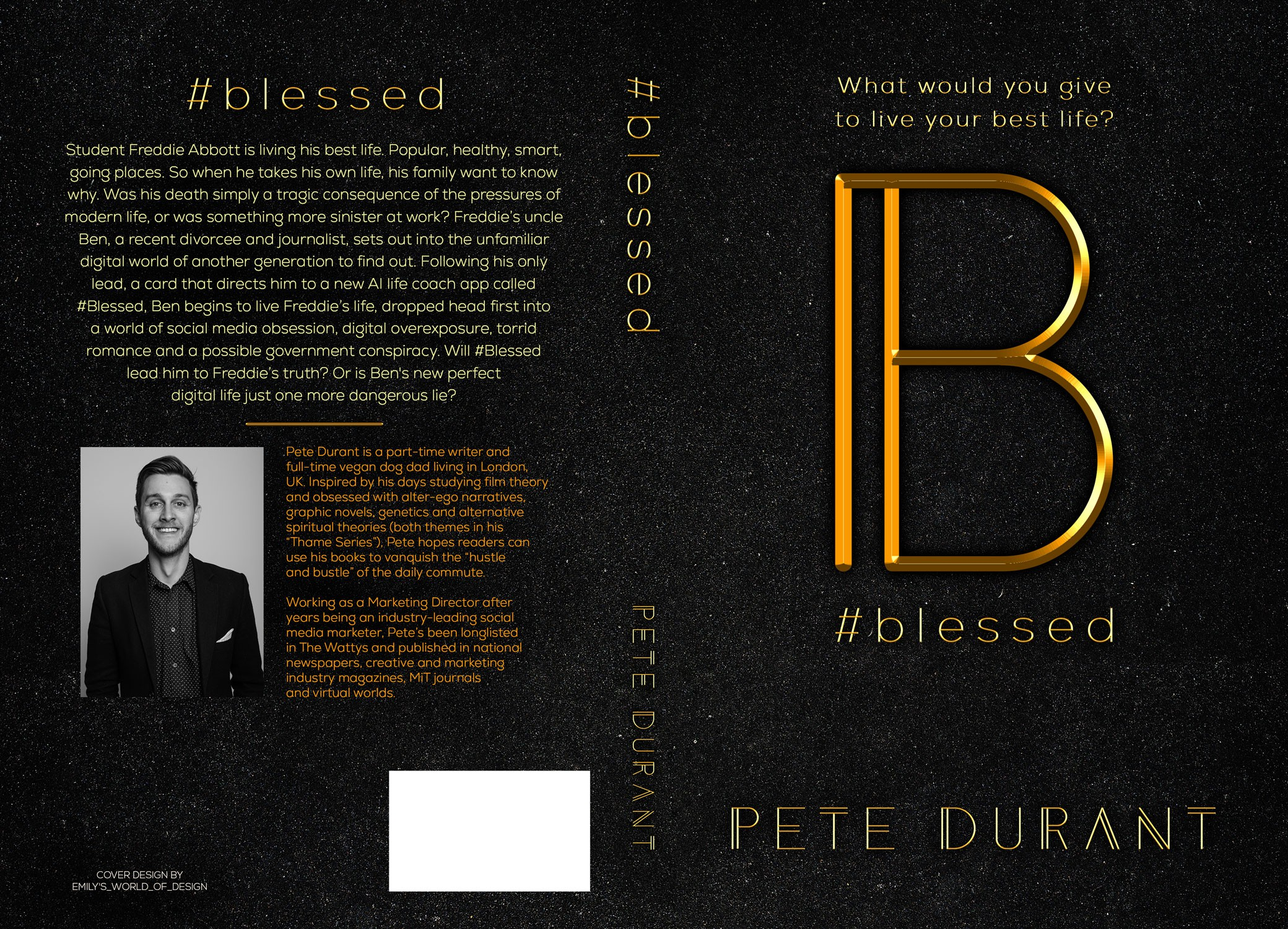 Blessed book cover