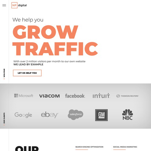 Website design for SEO expert