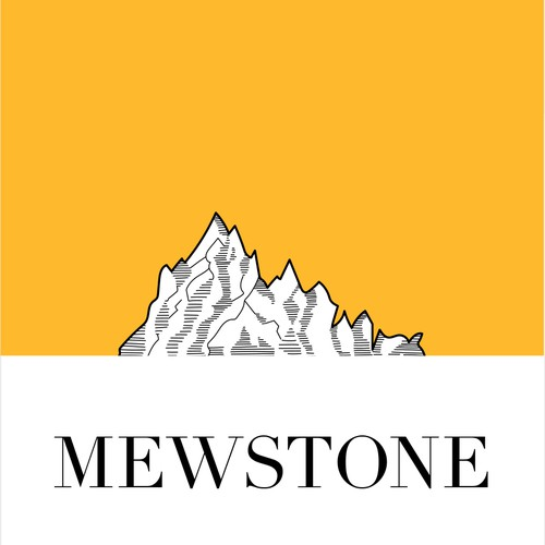 Mewstone Wine Label