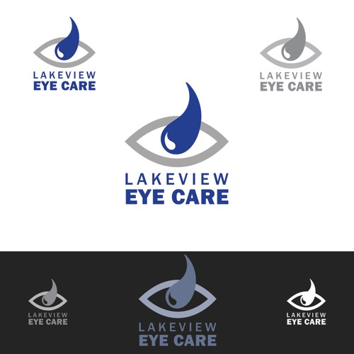 Eye care office logo
