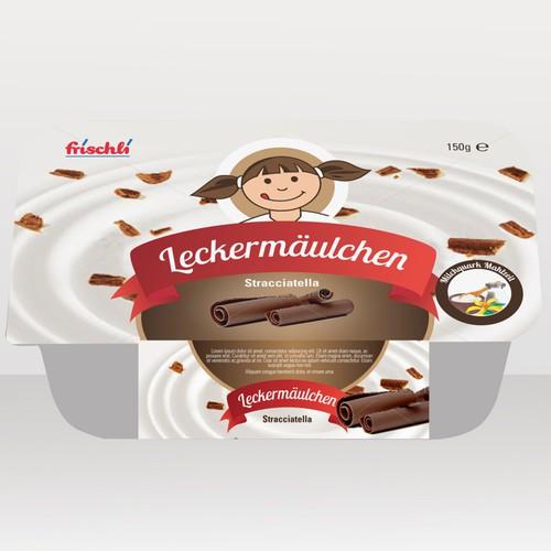 product packaging für Frischli Milchwerke GmbH