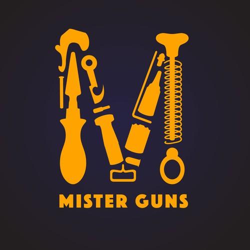 Logo concept for gun retailer