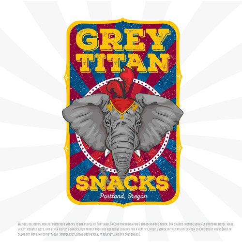 Grey Titan Snacks.
