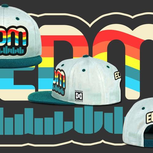 Design a fashion forward snapback hat!