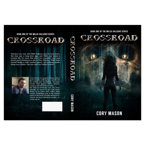 Book Cover Design for Cory Mason's Crossroad