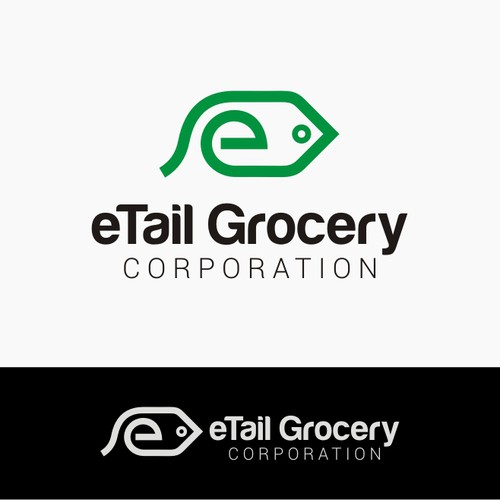 Create the next logo for eTail Grocery Corporation