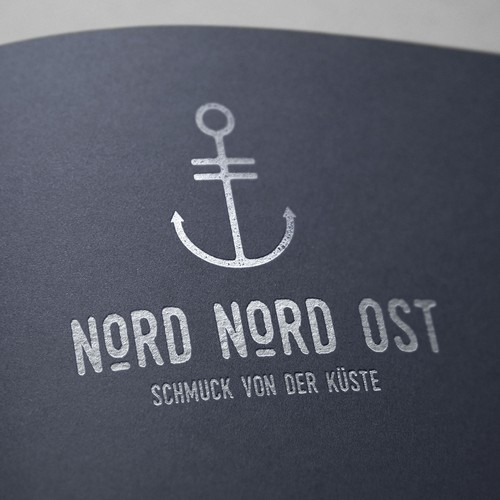 Logo for a goldsmith brand : Nord Nord Ost
