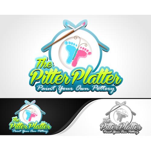 logo for The Pitter Platter