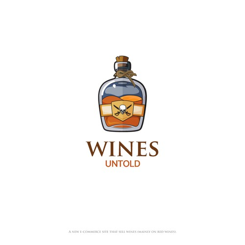 Logo concept for Wines Untold