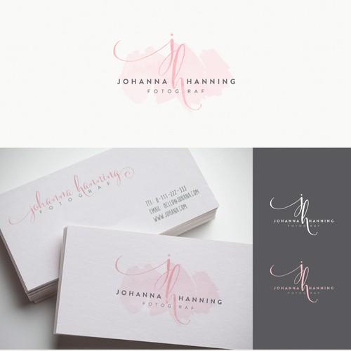 Johanna Hanning Fotograf - Watercolor Logo