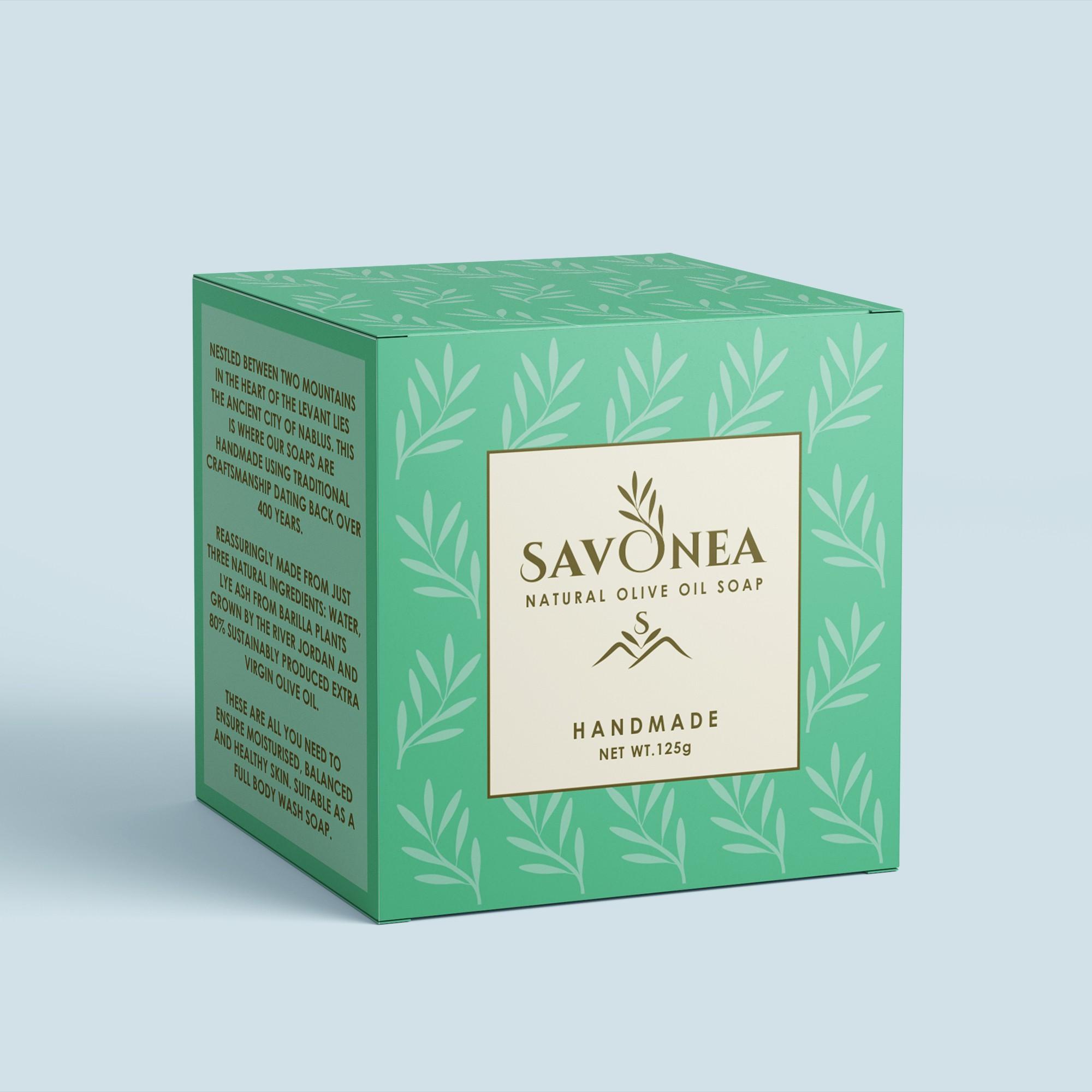 Logo for natural olive oil soap