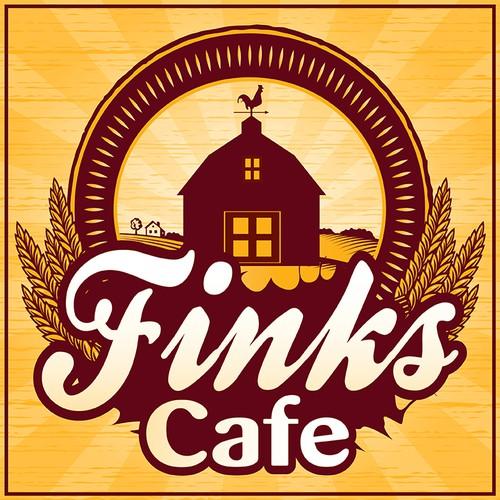 signage for Finks cafe