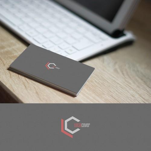 LocalCover logo design