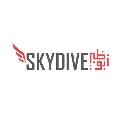 Logo concept for Skydive AbuDhabi